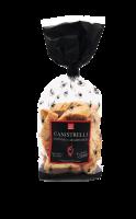 Canistrelli mit Karamellisierte Mandeln