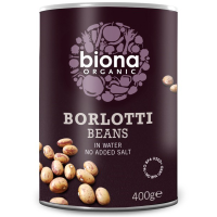 Biona Borlotti Bohnen, in Wasser, BIO