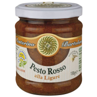 Rotes Pesto ligurischer Art, 180g.