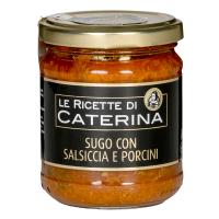 Sauce mit Salsiccia und Steinpilzen