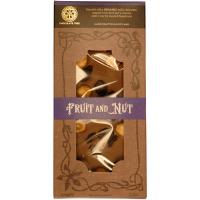 Vollmilchschokolade (39%) mit Früchten und Nüssen, BIO