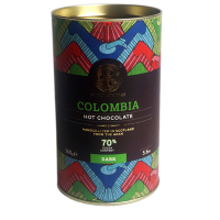 Dunkle heisse Schokolade Colombia (70%)