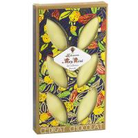 6 Calissons mit Schokolade und Zitrone