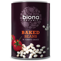 Biona Gebackene Bohnen in Tomatensauce, BIO