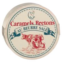 Karamellbonbon mit gesalzener Butter, runde Dose
