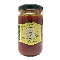 Tealdi Mediterrane Sauce mit Kapern, 180g