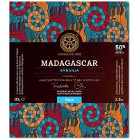 Milchschokolade Madagascar Ambanja (50%), BIO
