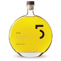 5 Oil, Natives Olivenöl Extra, klare Flasche