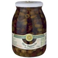 Taggiasca-Oliven in Olivenöl, entkernt, 950g.