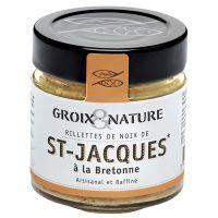 Jacobsmuschel Rillette bretonischer Art