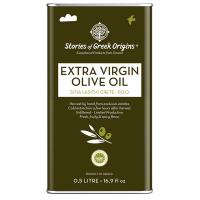 Olivenöl Premium EVOO Sitia Lasithi Crete P.D.O. Elegante Metalldose