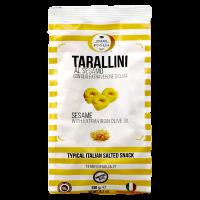 Tarallini mit Olivenöl und Sesam