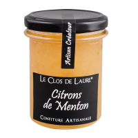 Marmelade aus Zitronen aus Menton