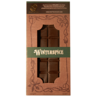 Dunkle Schokolade (58%) mit Wintergewürz, BIO
