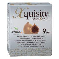 Feige mit Trüffel-Brandy-Füllung und weißer Schokolade, 9er-Packung