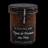 Konfitüre aus Feigen der Provence und Nüssen