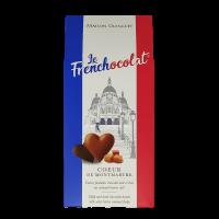 Schokoladenherzen gefüllt mit Karamell