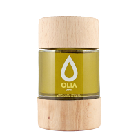 Koroneiki Olivenöl Ultra Premium, EVOO, in Holzbox, 200ml