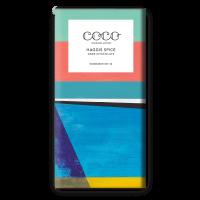 Dunkle Schokolade (60%) mit Haggis Gewürz