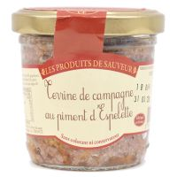 Landterrine mit Piment d'Espelette