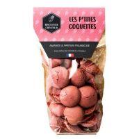 La Cigale Macaronhüllen mit Mandel- und Himbeeren