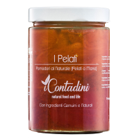"""I Pelati"" geschälte Tomaten, lang. Naturell"