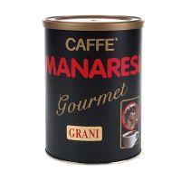 Manaresi Kaffee Gourmet, ganze Bohnen, Dose, 250 g