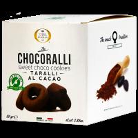 Chocoralli, Taralli mit Kakao