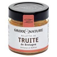 Forellen Rillette bretonischer Art