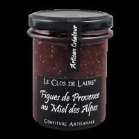 Konfitüre aus Feigen der Provence und Honig aus den Alpen