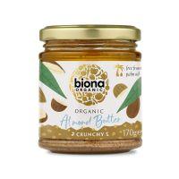 Biona Mandelbutter, crunchy, BIO