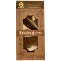 Dunkle Schokolade (74%) mit Türkischem Kaffee, BIO