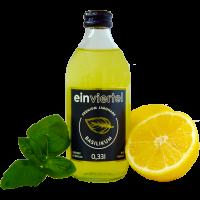Basilikum Premium Limonade 20er Kiste