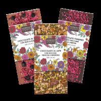 Probierpaket Schokolade mit Beeren & Nüssen