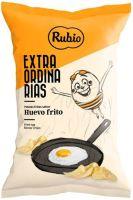 Chips mit Spiegelei Aroma