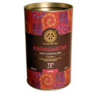 Dunkle heisse Schokolade Madagascar (72%), BIO