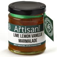 Limetten-Zitronen-Vanille Marmelade