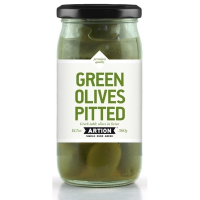Grüne Oliven, ohne Stein