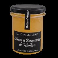 Zitronenmarmelade und Bergamotte aus Menton