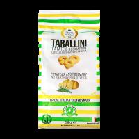 Tarallini mit Olivenöl, Kartoffeln und Rosmarin