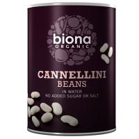 Biona Cannellini Bohnen, in Wasser, BIO