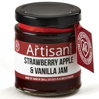 Erdbeer-Apfel-Vanille Konfitüre