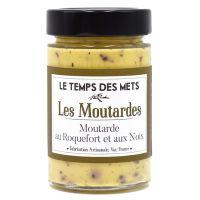 Senf mit Roquefort und Walnuß, 200g