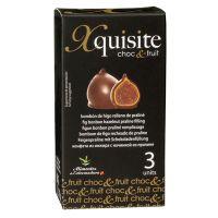 Feige mit Pralinenfüllung und Schokoladenüberzug, 3er-Packung