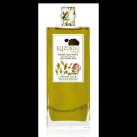 Elizondo Olivenöl mit schwarzen Trüffelscheiben