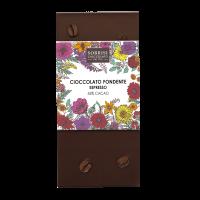 Zartbitterschokolade mit Espresso