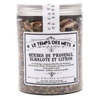 Kräuter der Provence mit Schalotte und Zitrone