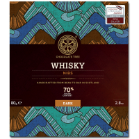 Dunkle Schokolade (70%) mit Whisky