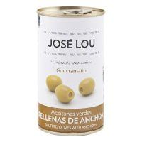 Manzanilla Oliven mit Sardellen gefüllt