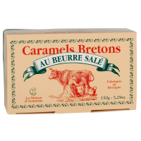 "Karamellbonbon mit gesalzener Butter, ""Butterdose"" groß, 150g."